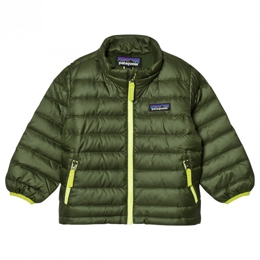 Patagonia Baby Down Sweater Jacket Buffalo Green Kuoritakki