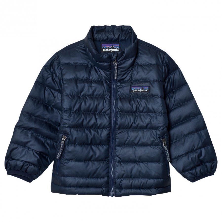 Patagonia Baby Down Sweater Jacket Navy Kuoritakki