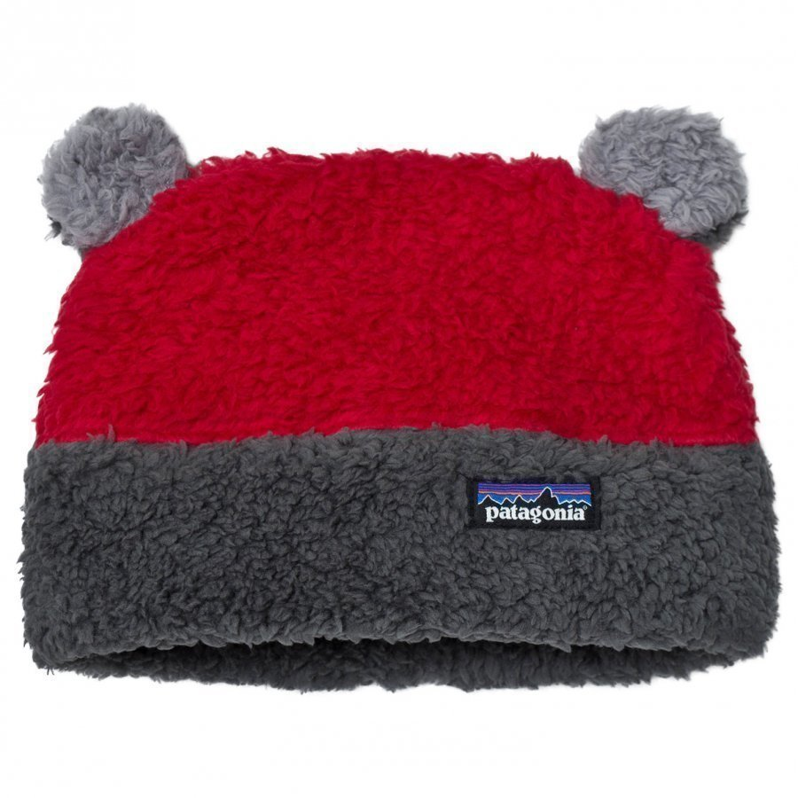 Patagonia Baby Furry Friends Hat Classic Red Pipo