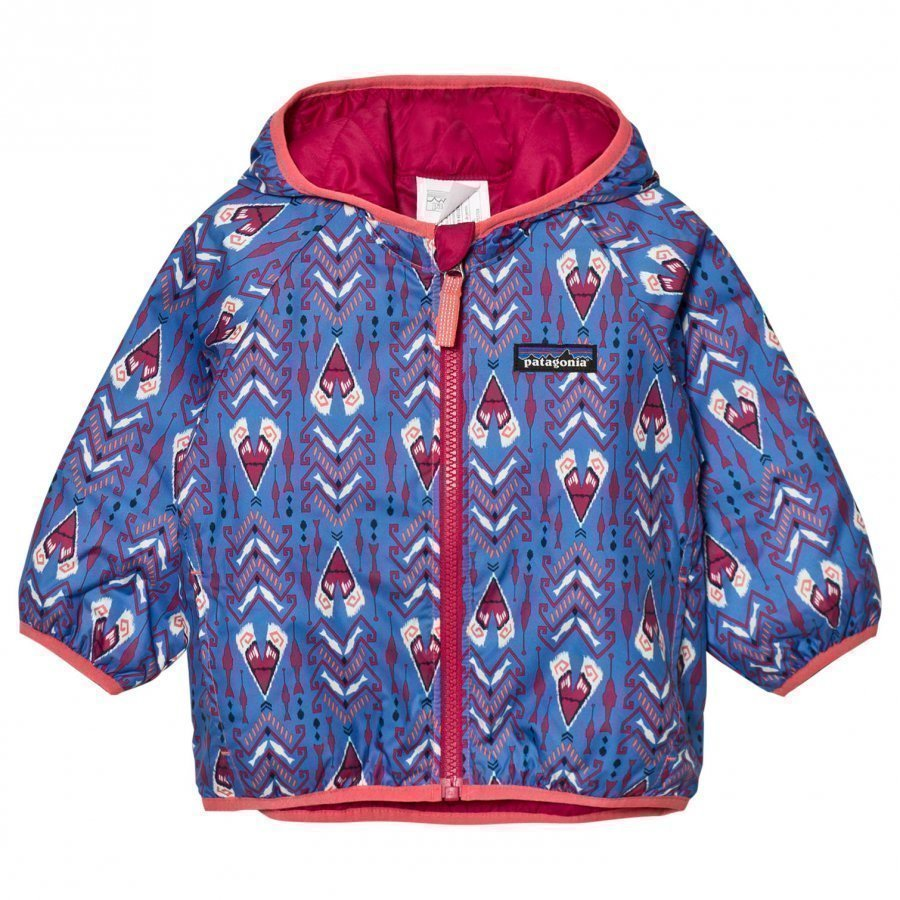 Patagonia Baby Reversible Puff-Ball Jacket Tipikat Oasis Blue Kuoritakki