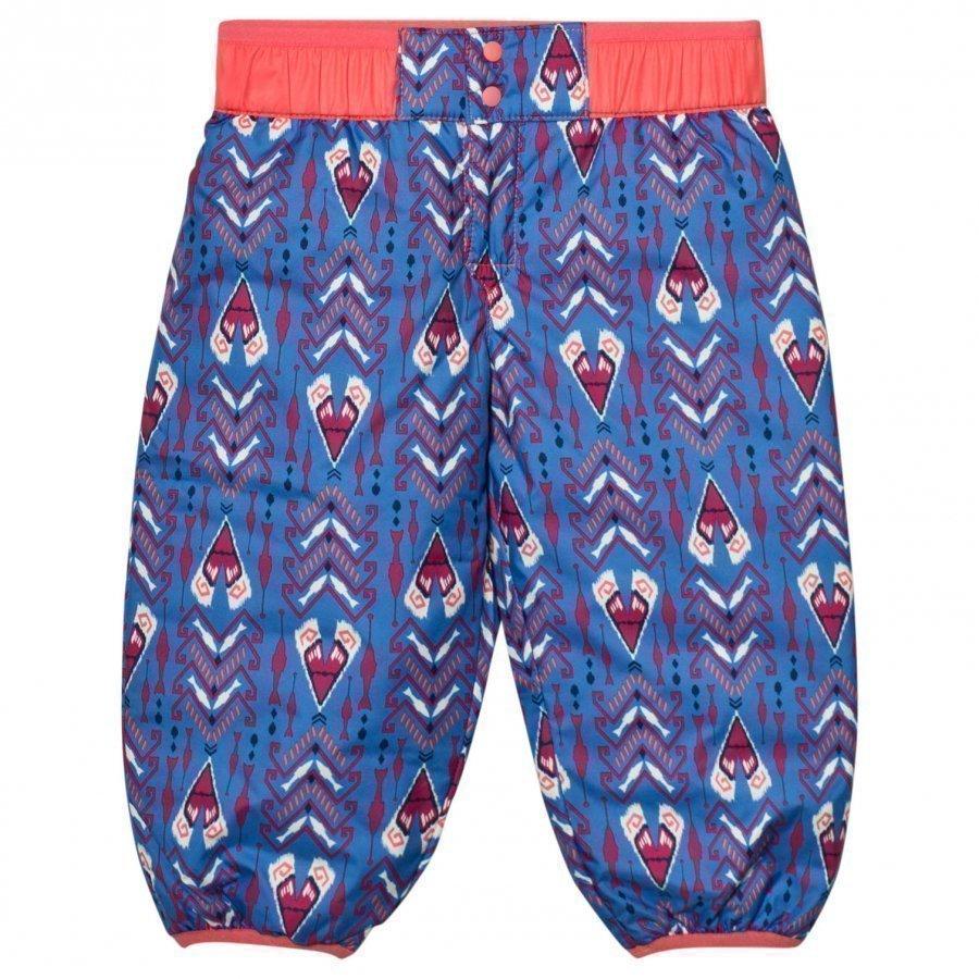Patagonia Baby Reversible Puff-Ball Pants Tipikat Oasis Blue Sadehousut