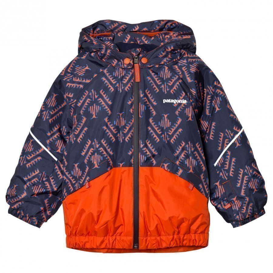 Patagonia Baby Snow Pile Jacket Riverbird Paintbrush Red Toppatakki