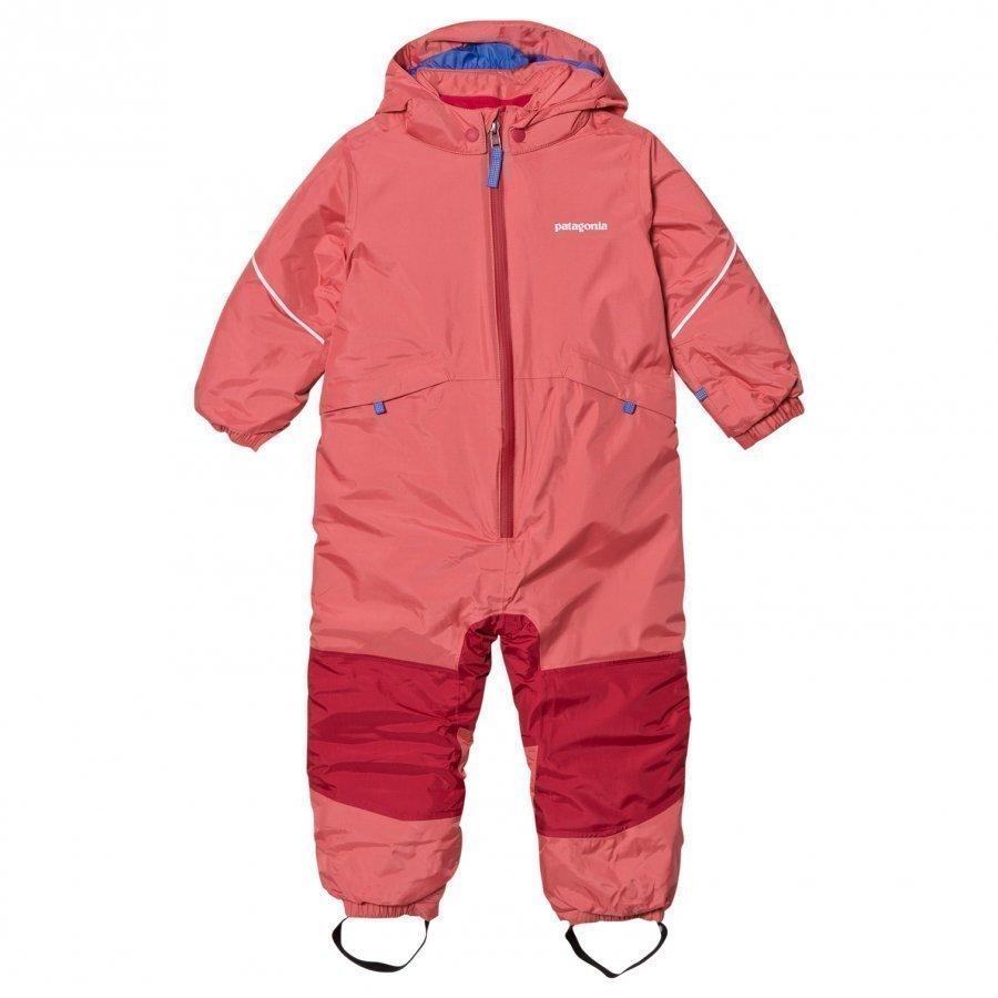 Patagonia Baby Snow Pile Snow Suit Indy Pink Toppahaalari