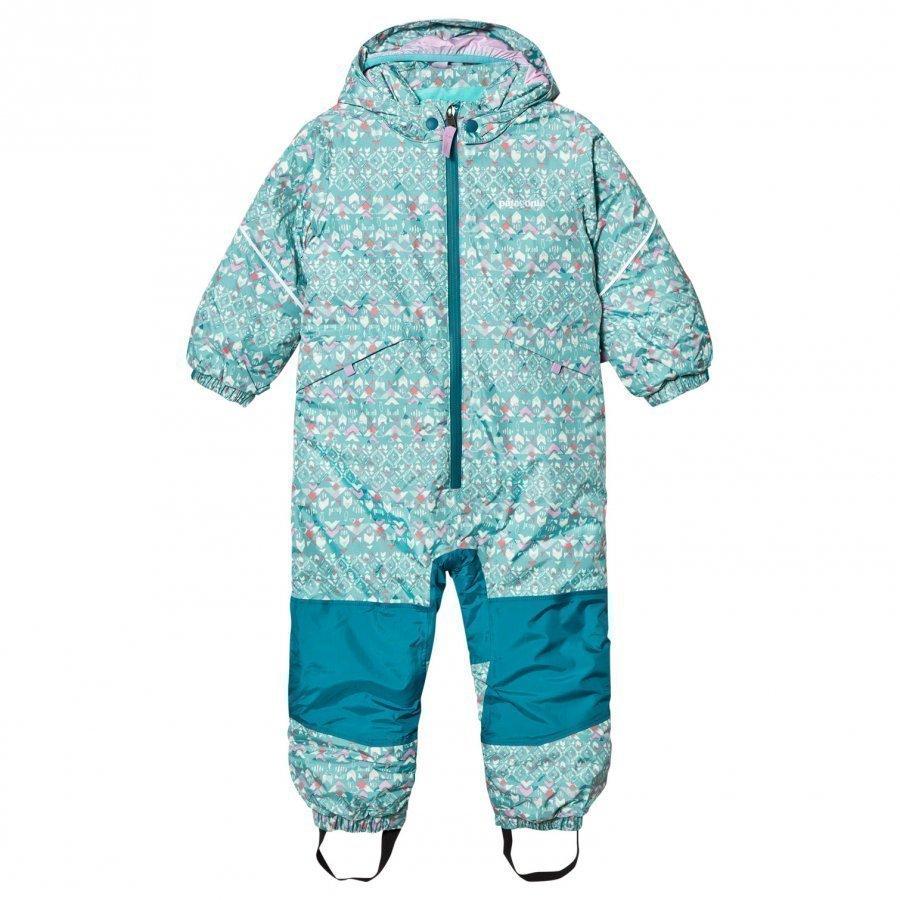 Patagonia Baby Snow Pile Snow Suit Strait Blue Toppahaalari
