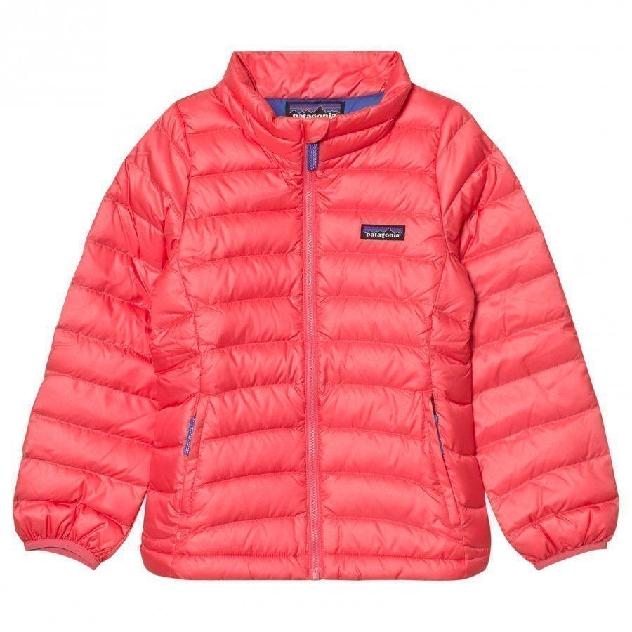 Patagonia Down Sweater Indy Pink Kuoritakki