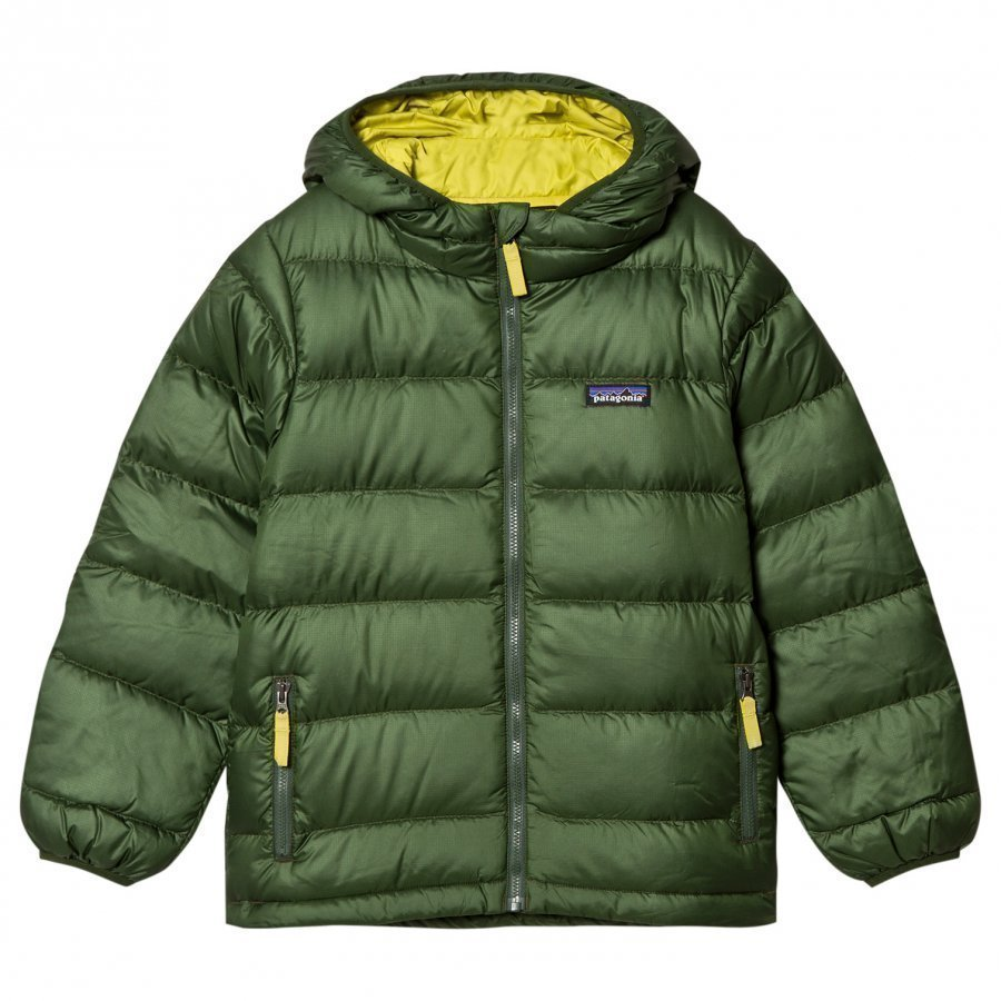 Patagonia Hi-Loft Down Sweater Hoody Glades Green Kuoritakki