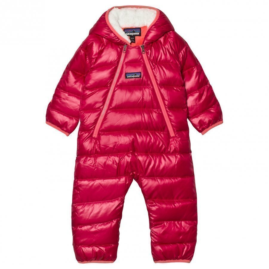 Patagonia Infant Hi-Loft Down Sweater Bunting Coverall Craft Pink Sadehaalari