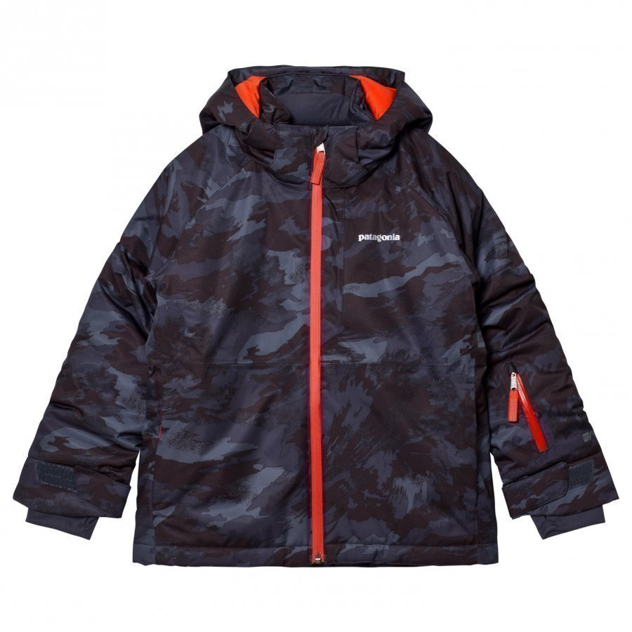 Patagonia Snowshot Jacket El Nino Camo Black Toppatakki