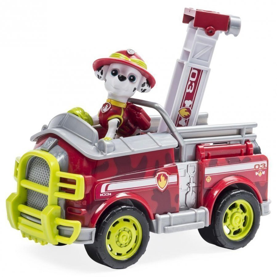 Paw Patrol Marshall's Jungle Truck Leluajoneuvosarja