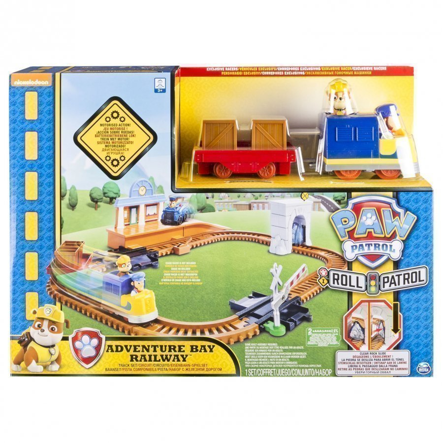 Paw Patrol On A Roll Rescue Train Set Leluajoneuvosarja