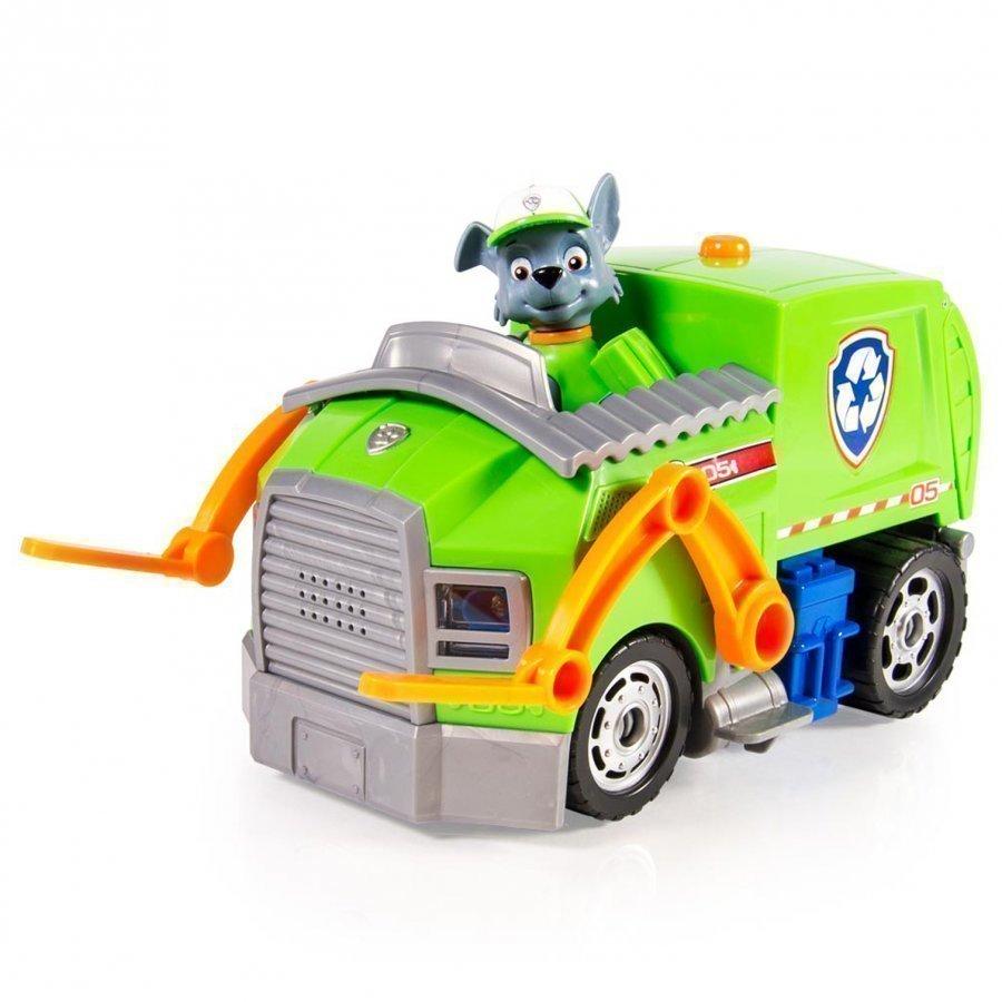 Paw Patrol Rocky's Recycling Truck Leluajoneuvosarja