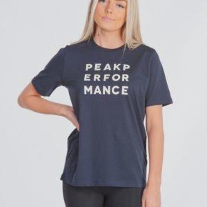 Peak Performance Jr Groun T T-Paita Sininen