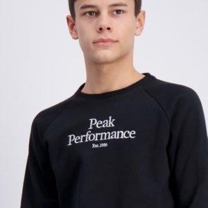 Peak Performance Jr Orig C Neule Musta