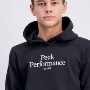 Peak Performance Jr Orig H Huppari Musta