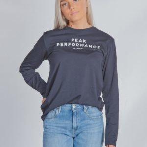 Peak Performance Jr Orig Ls Paita Sininen