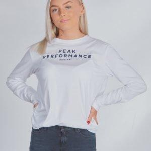 Peak Performance Jr Orig Ls Paita Valkoinen