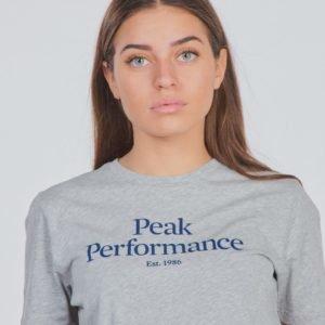 Peak Performance Jr Orig T T-Paita Harmaa