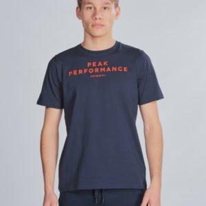 Peak Performance Jr Orig T T-Paita Sininen