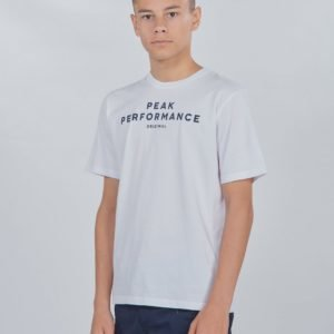 Peak Performance Jr Orig T T-Paita Valkoinen