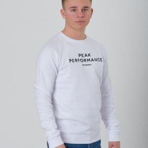 Peak Performance Jr Origc Neule Valkoinen