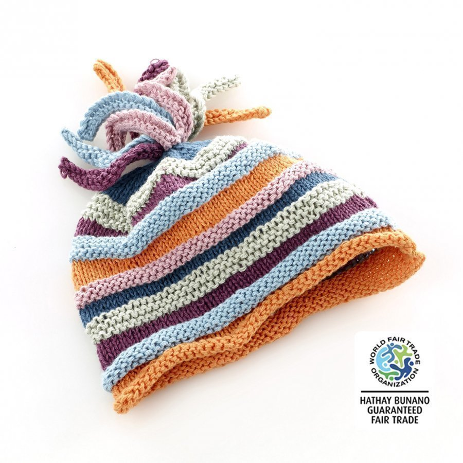 Pebble Unisex Rainbow Hat Aurinkohattu
