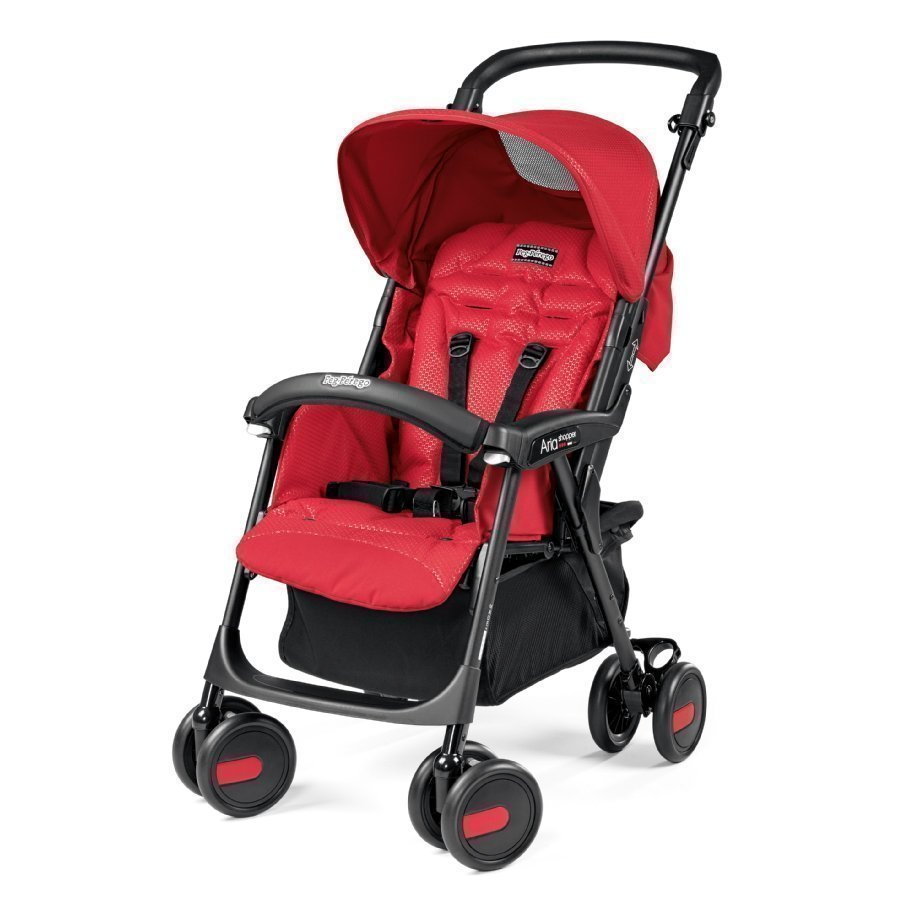 Peg Perego Aria Mod Red Matkarattaat