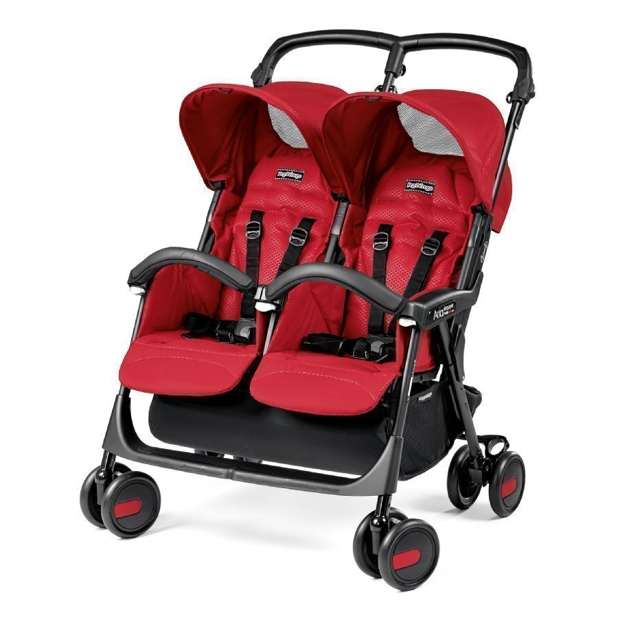 Peg Perego Aria Twin Mod Red Kaksosrattaat
