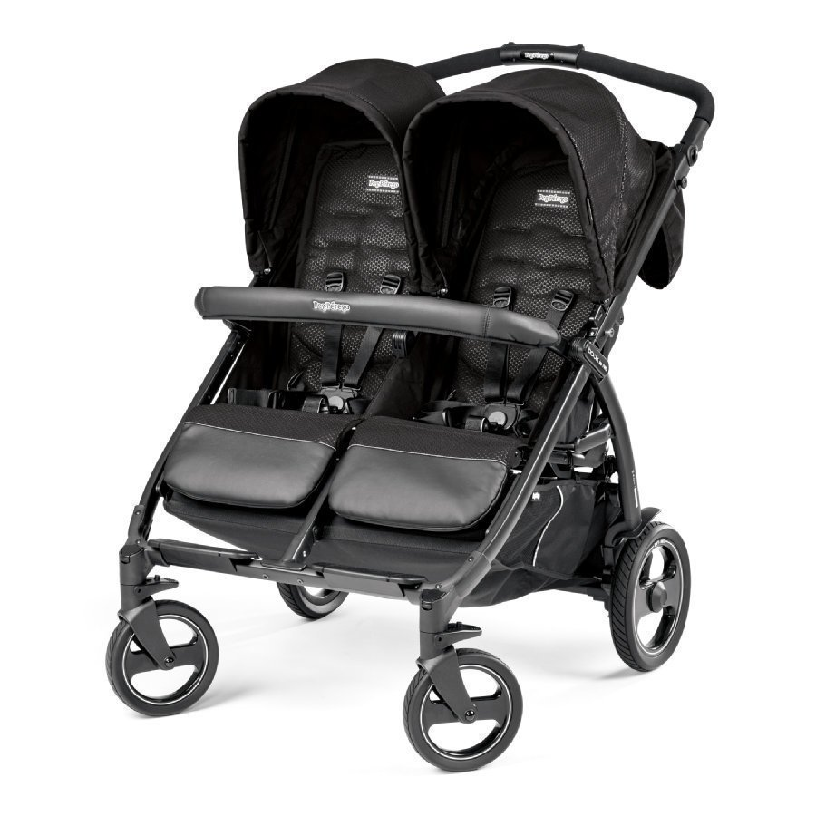 Peg Perego Book For Two Mod Black Kaksosrattaat