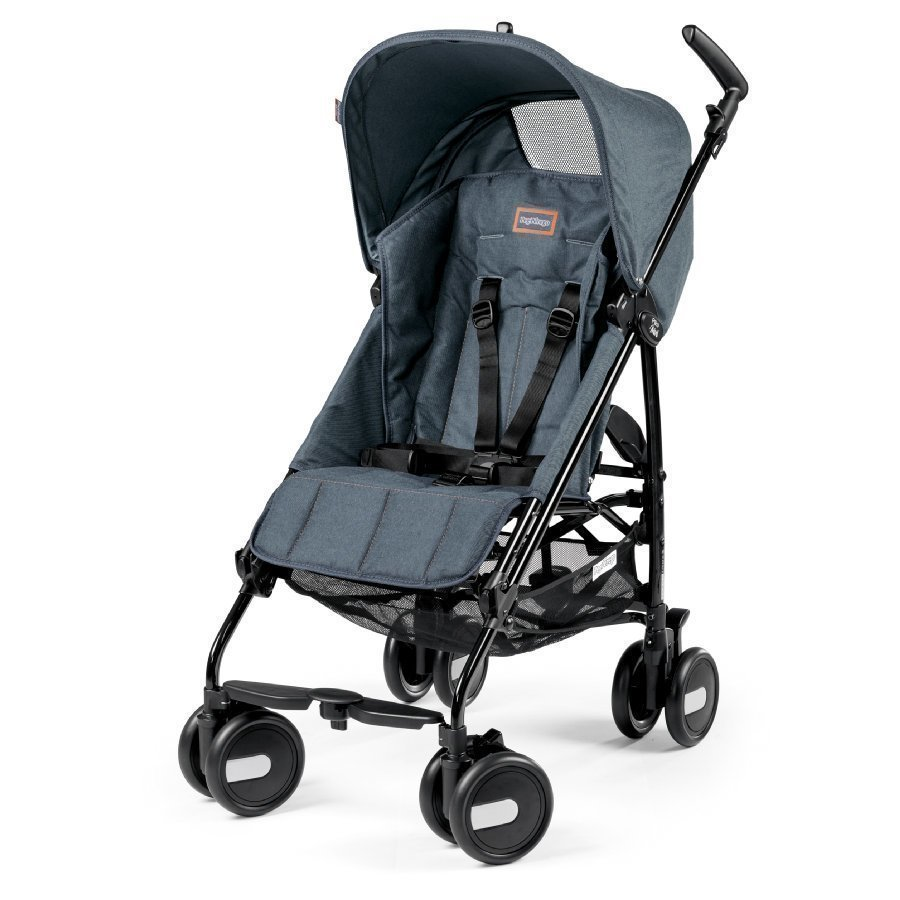 Peg Perego Pliko Mini Blue Denim Matkarattaat