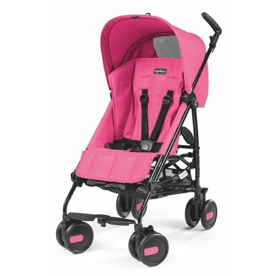 Peg Perego Pliko Mini Mod Pink Matkarattaat