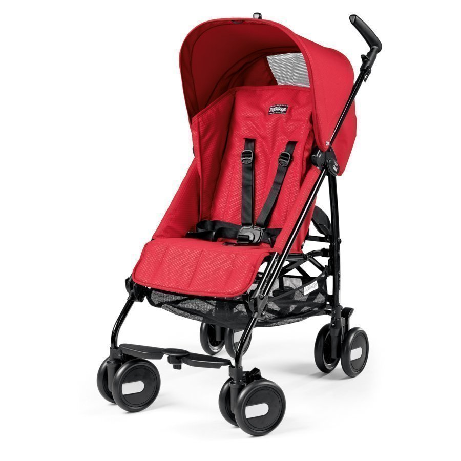Peg Perego Pliko Mini Mod Red Matkarattaat
