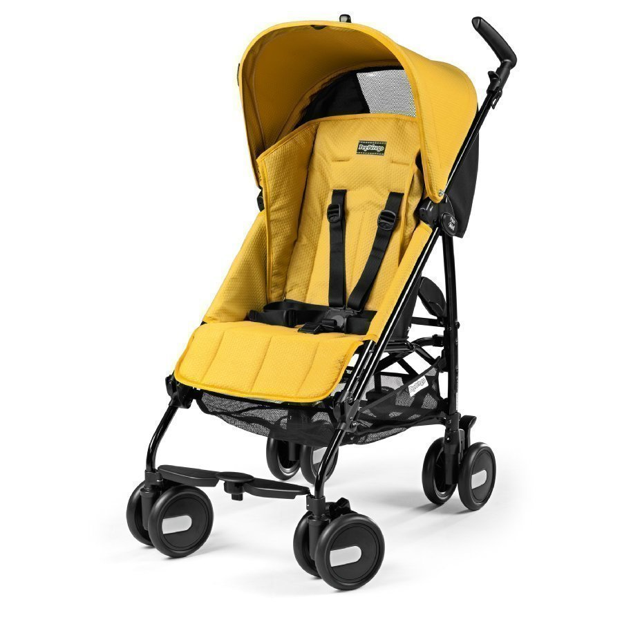 Peg Perego Pliko Mini Mod Yellow Matkarattaat