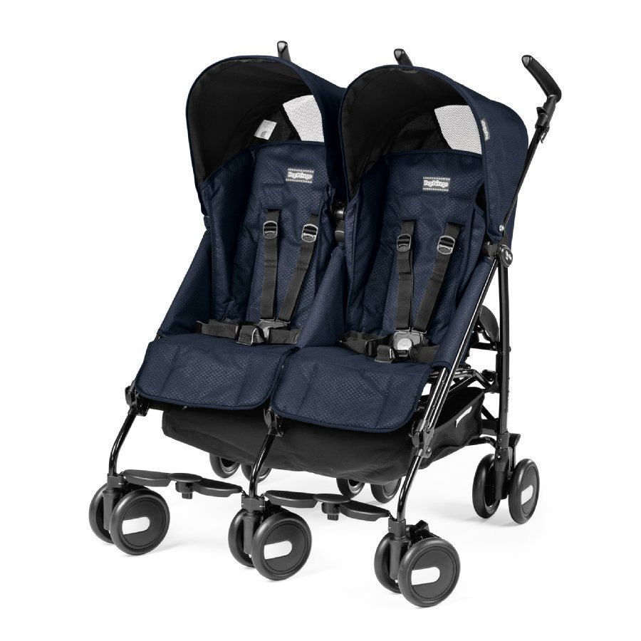 Peg Perego Pliko Mini Twin Mod Navy Kaksosrattaat