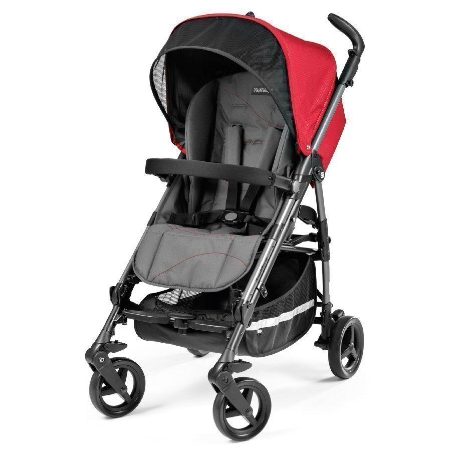 Peg Perego Si Bloom Red Matkarattaat