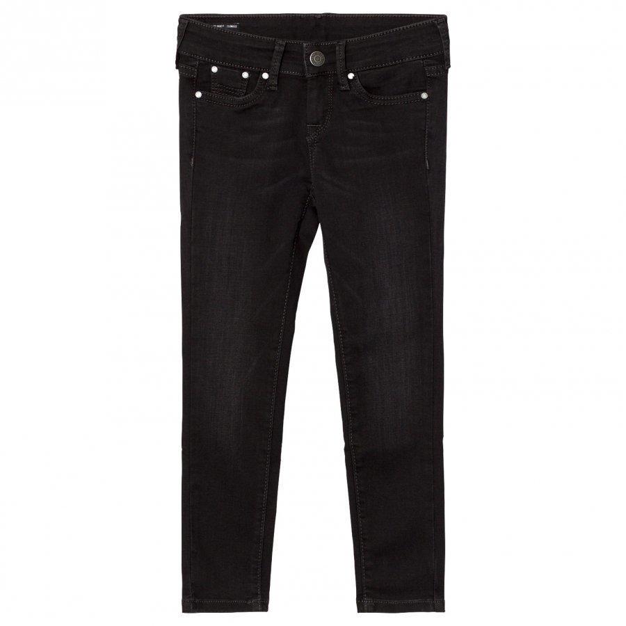 Pepe Jeans Black Washed Pixelette Skinny Jeans Farkut
