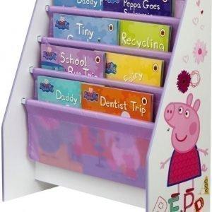 Peppa Pig Kirjahylly lokeroilla