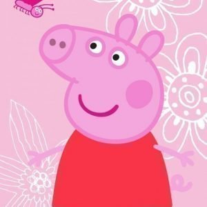 Peppa Pig Matto Butterfly 95 x 133 cm