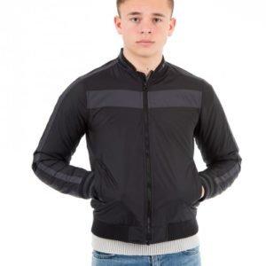 Perrelli Street Wear Foro Jacket Takki Musta
