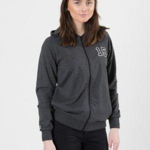 Perrelli Street Wear Kyrie Zip Hood Huppari Harmaa