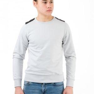 Perrelli Street Wear Tipton College Neule Harmaa