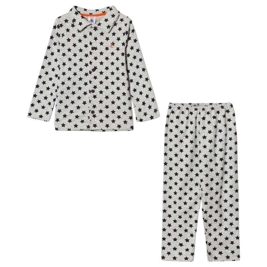 Petit Bateau Beluga Star Pyjamas Yöpuku