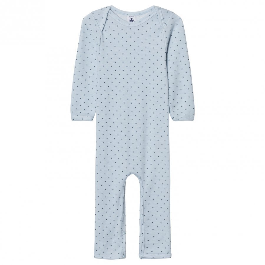 Petit Bateau Blue Star One-Piece Body