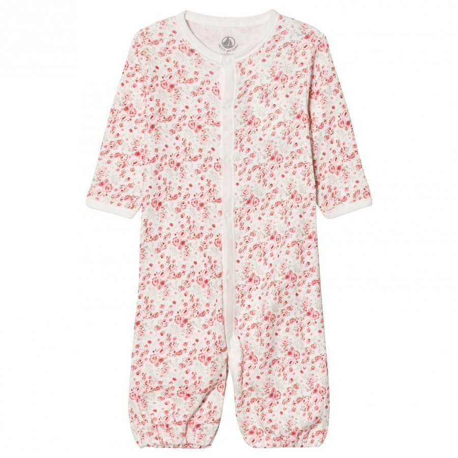 Petit Bateau Floral 2-In-1 One-Piece Lahjasetti