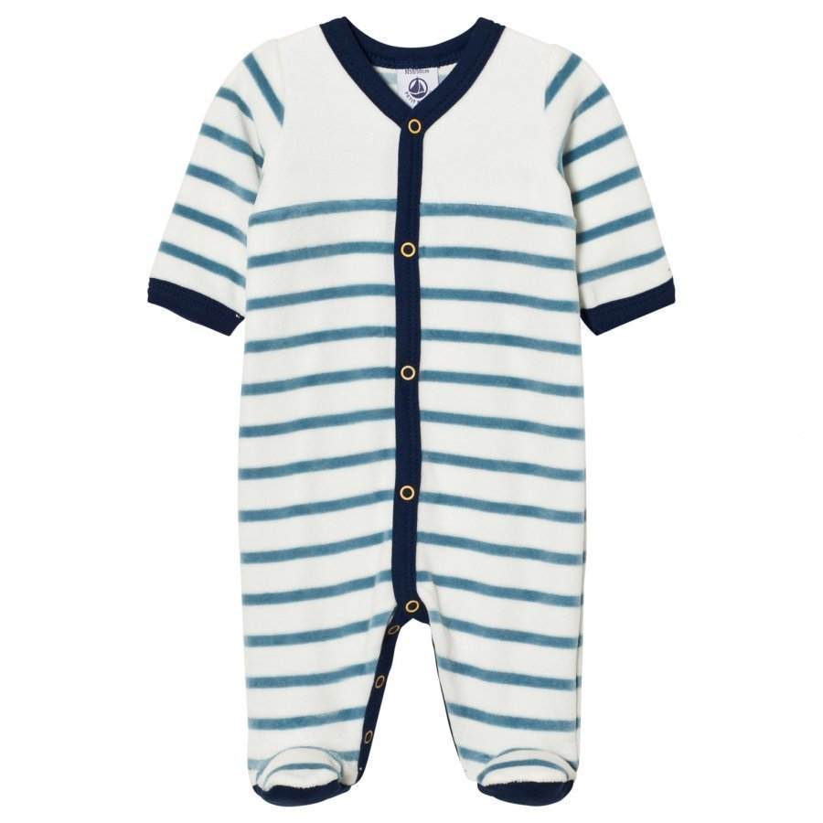 Petit Bateau Footed Baby Body Creme Body