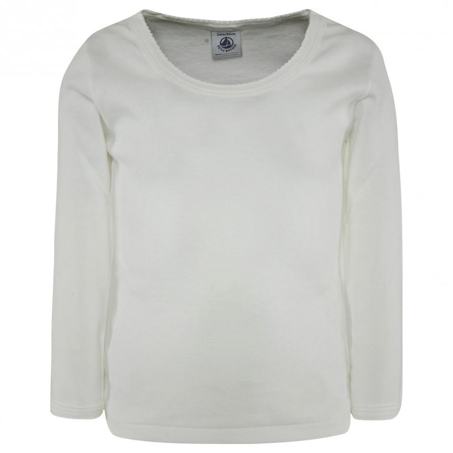 Petit Bateau Girly Longsleeve Tee Shirt Pitkähihainen T-Paita