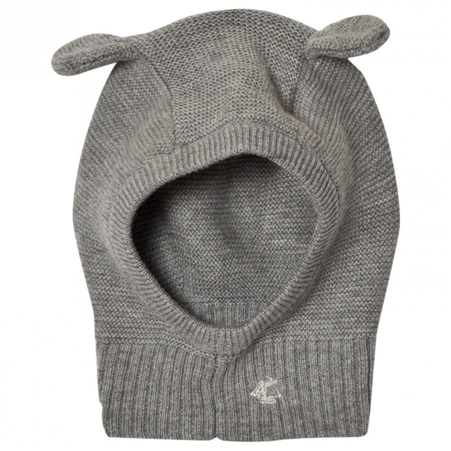 Petit Bateau Knitted Balaclava Grey Kypäräpipo