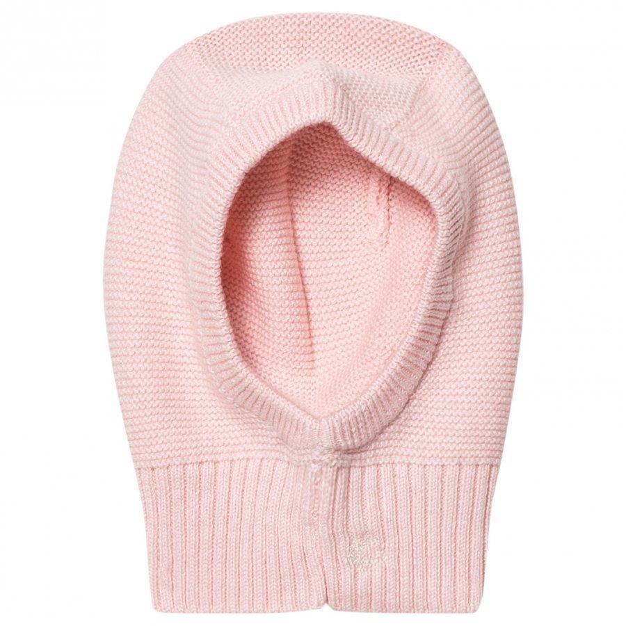 Petit Bateau Knitted Balaclava Pink Kypäräpipo