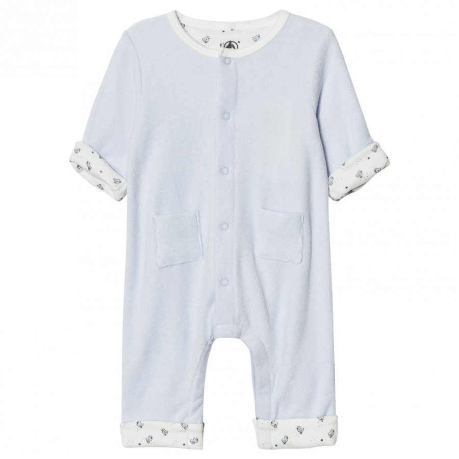 Petit Bateau Light Blue One-Piece Body