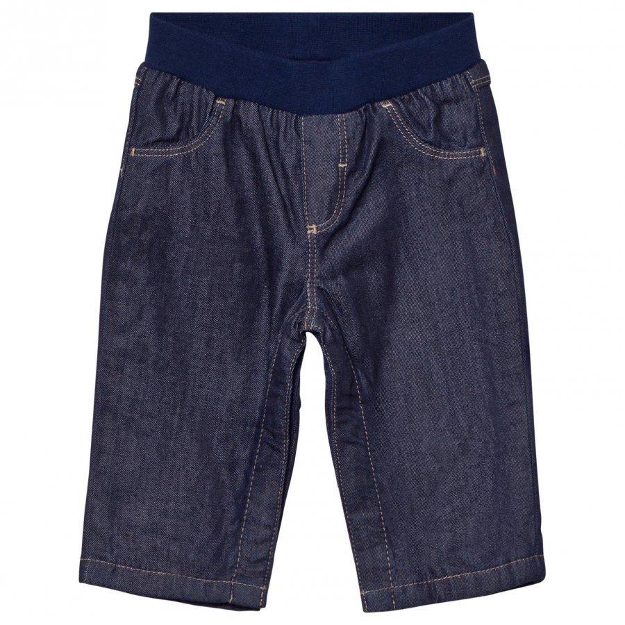 Petit Bateau Lined Blue Jeans Farkut