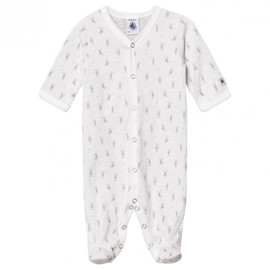 Petit Bateau Little Rabbit Footed Baby Body Cream Body